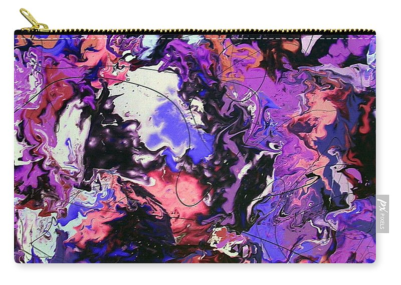 Magic Carry-all Pouch featuring the painting Conjure The Magic by Dawn Hough Sebaugh