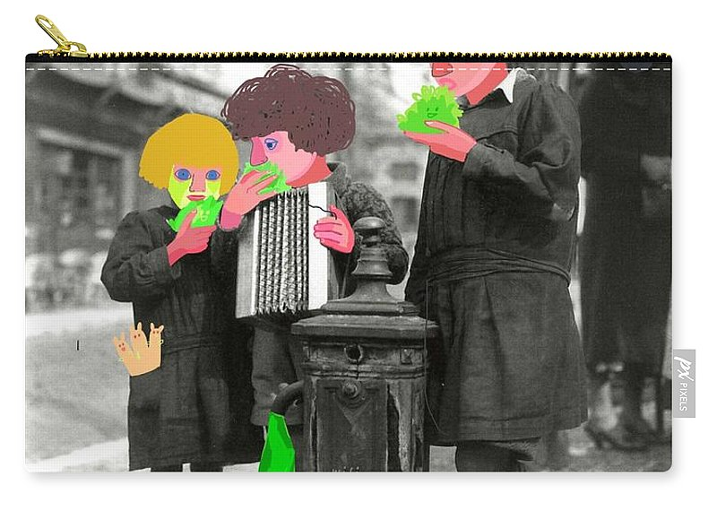 Children Carry-all Pouch featuring the digital art Connected by Trendafila Trendafilova