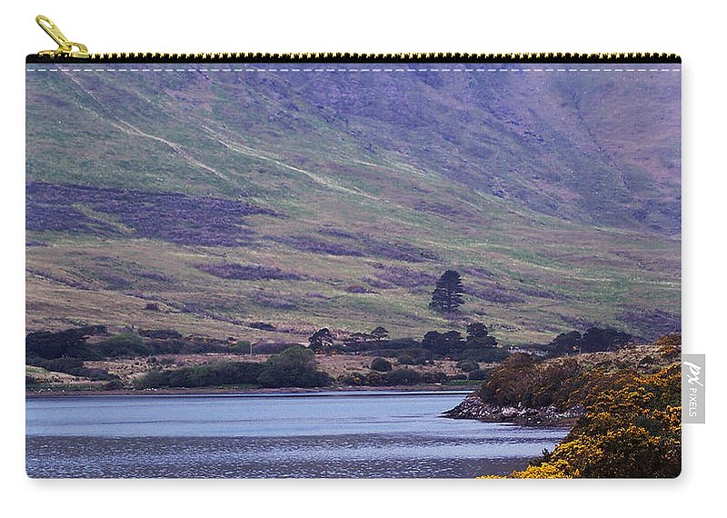 Landscape Carry-all Pouch featuring the photograph Connemara Leenane Ireland by Teresa Mucha