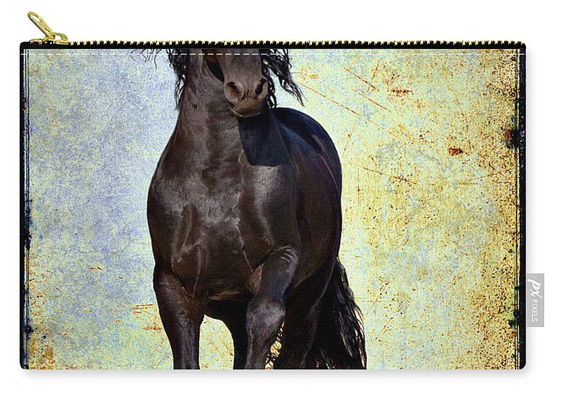 Carry-all Pouch featuring the photograph Conqueror by Jean Hildebrant