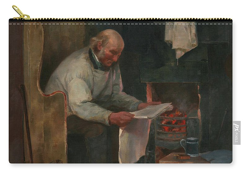 Contentment Carry-all Pouch featuring the painting Contentment by George Ficklin