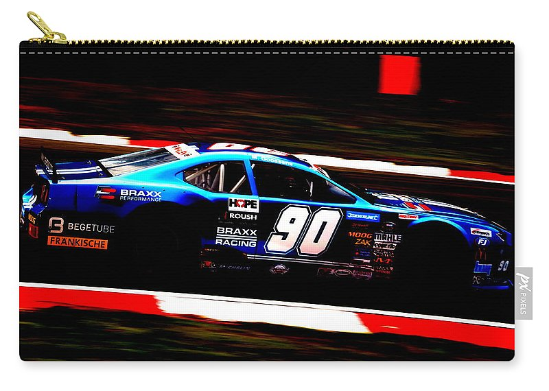 Car Carry-all Pouch featuring the photograph Contrast Series - 5 by Perggals - Stacey Turner