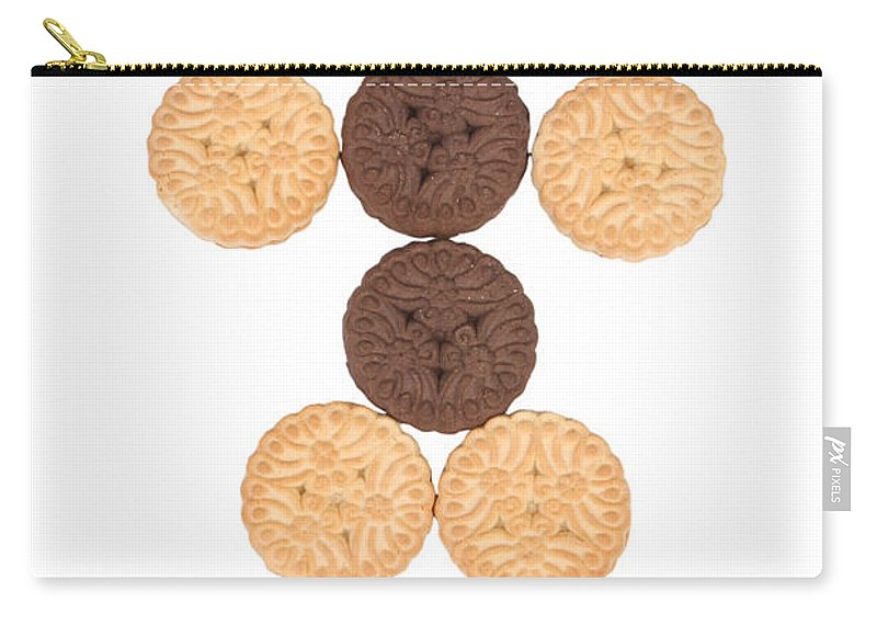 Cookies Carry-all Pouch featuring the photograph Cookie Man by James BO Insogna