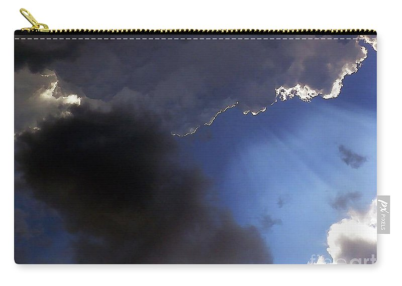 Cloud Carry-all Pouch featuring the photograph Cool Clouds by Al Powell Photography USA
