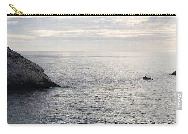 Sunset Carry-all Pouch featuring the photograph Cool Horizon by Marnie Patchett