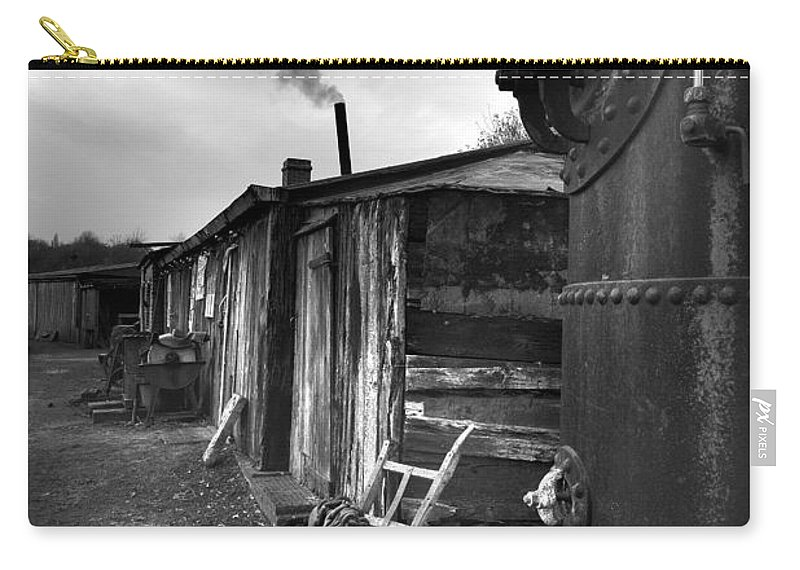 Shack Carry-all Pouch featuring the photograph Cool Shack by Bob Kemp