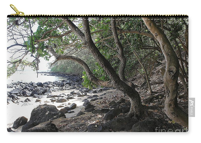 Ocean Carry-all Pouch featuring the photograph Cool Spot by Mary Deal