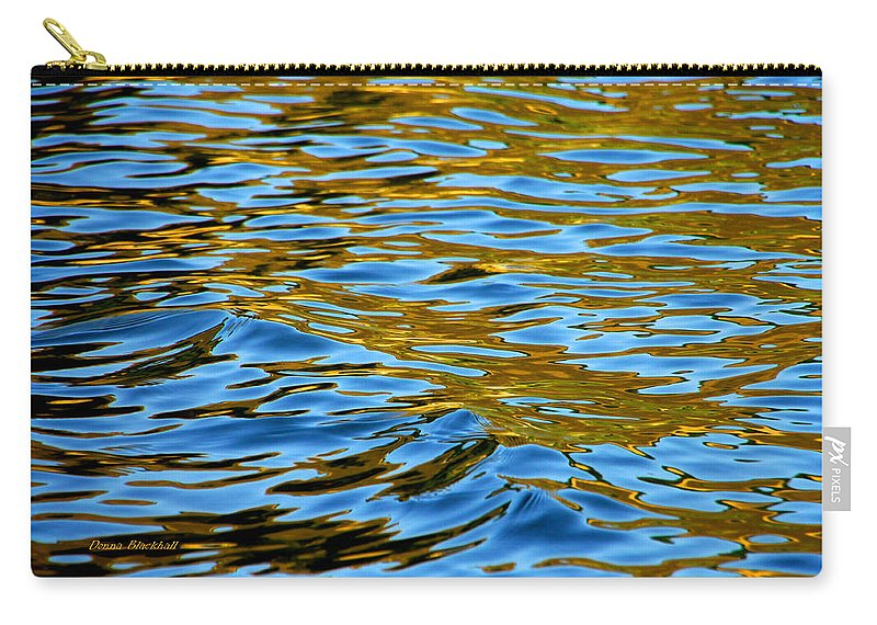 Water Carry-all Pouch featuring the photograph Copper Melody by Donna Blackhall