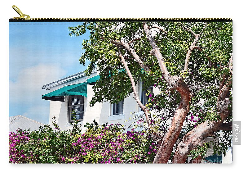 Key West Florida Carry-all Pouch featuring the photograph Copper Tree by Davids Digits