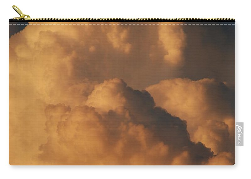 Clouds Carry-all Pouch featuring the photograph Coppermouth by Rob Hans