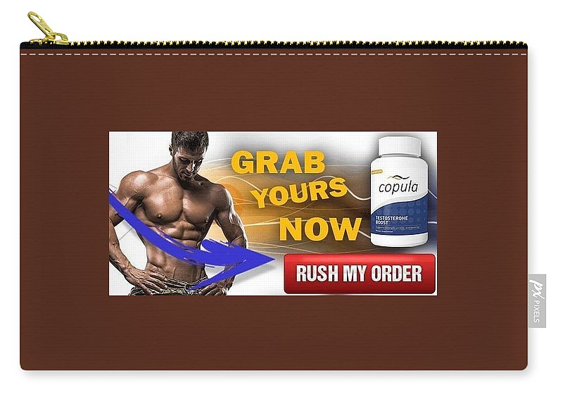 Copula Testosterone Boost Carry-all Pouch featuring the mixed media Copula Testosterone Boost by Copula Testosterone Boost