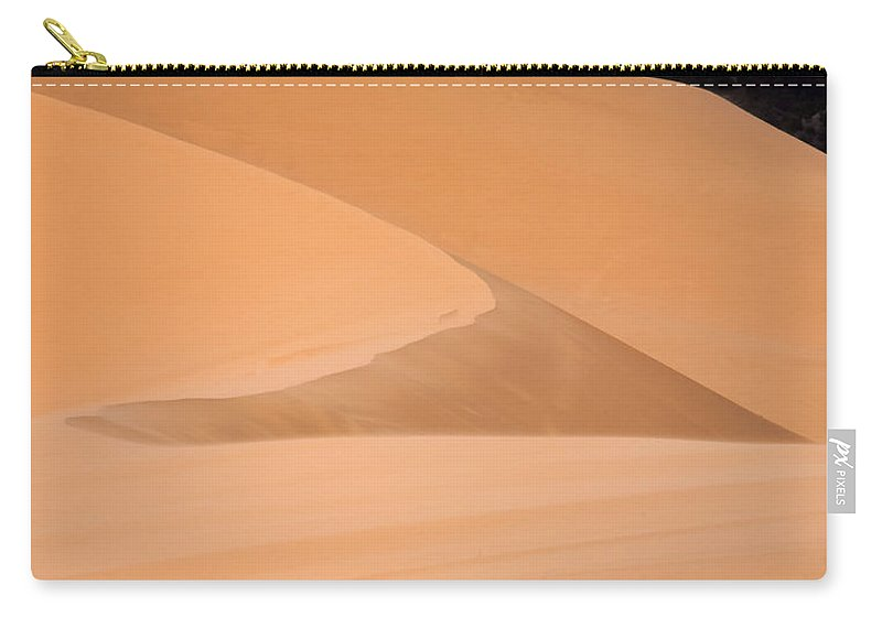 Landscape Carry-all Pouch featuring the photograph Coral Pink Sandunes by Sharon Foster