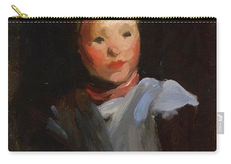 Cori Carry-all Pouch featuring the painting Cori 1907 by Henri Robert