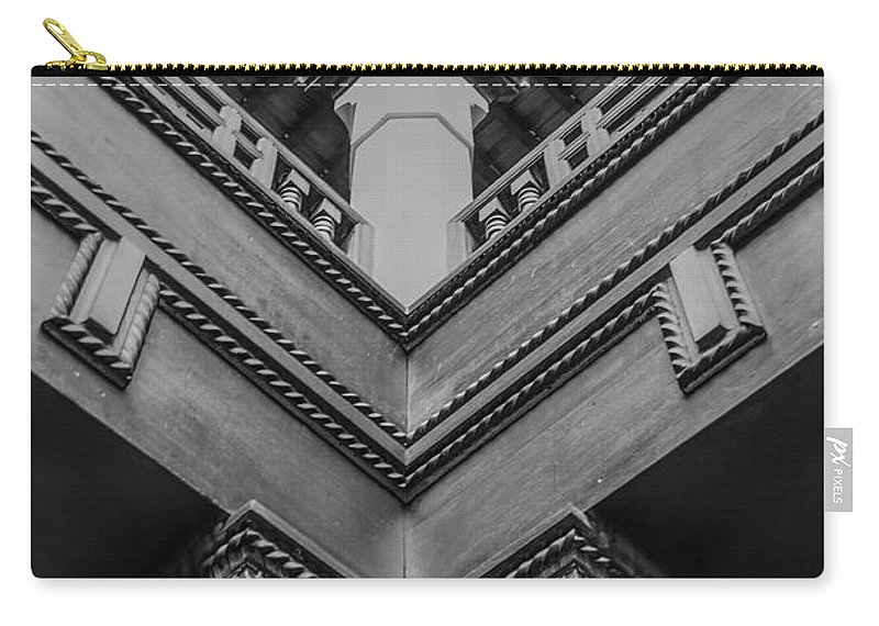 Carry-all Pouch featuring the photograph Corner by Ivan Urbina