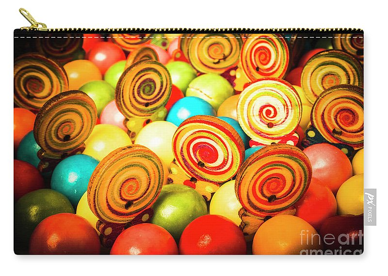 Colourful Carry-all Pouch featuring the photograph Corner Store Candies by Jorgo Photography - Wall Art Gallery