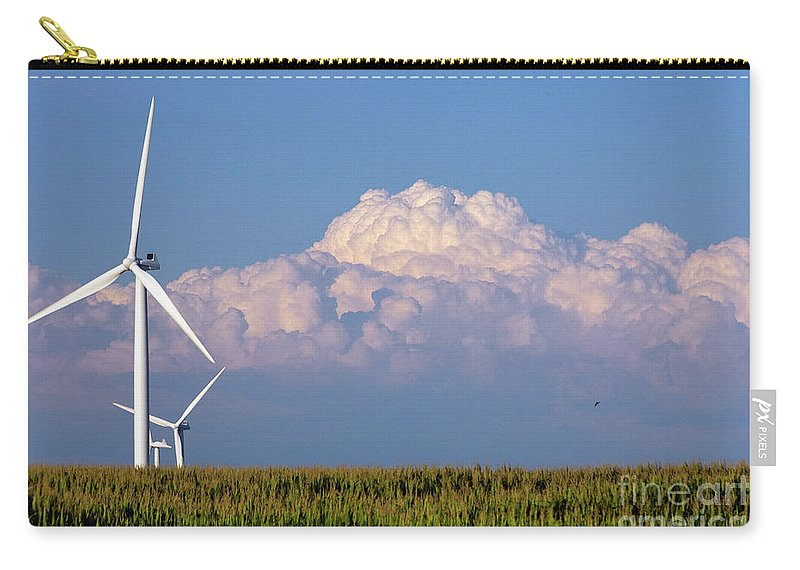 Art Carry-all Pouch featuring the photograph Cornergy by Alan Look