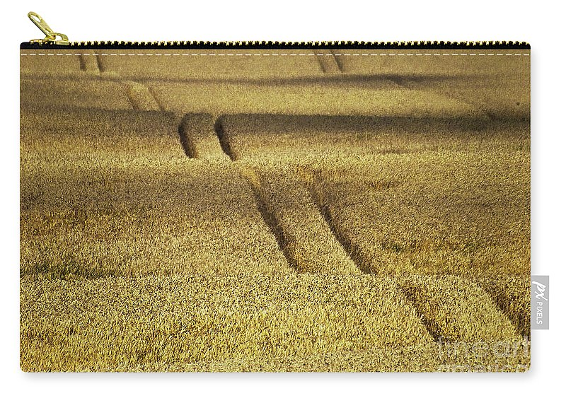 Heiko Carry-all Pouch featuring the photograph Cornfield by Heiko Koehrer-Wagner
