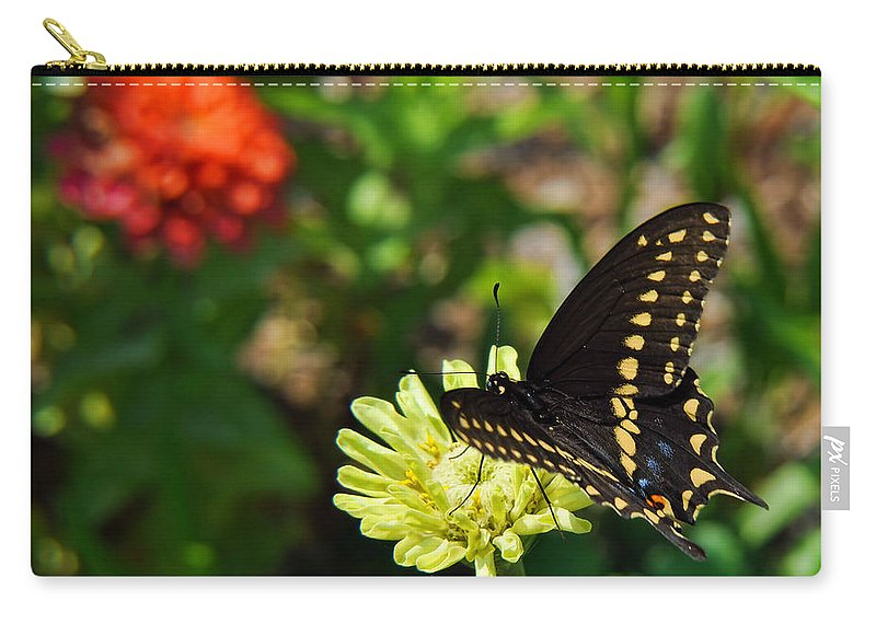 Butterfly Carry-all Pouch featuring the photograph Corolla Garden by JAMART Photography