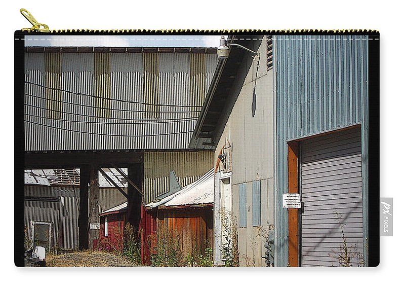 Corrugated Carry-all Pouch featuring the photograph Corrugated by Tim Nyberg