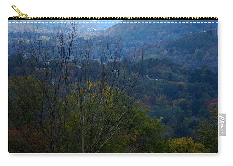 Digital Photograph Carry-all Pouch featuring the photograph Cortland Ny by David Lane