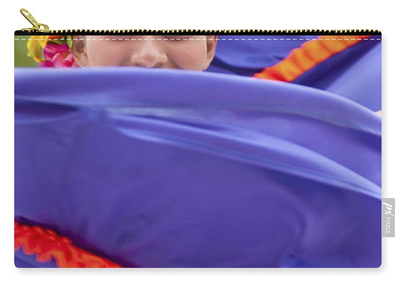 Costa Maya Carry-all Pouch featuring the photograph Costa Maya Dancer II by Steven Sparks