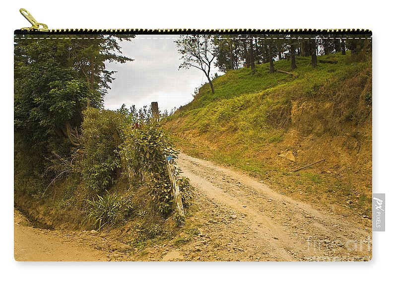 Landscape Carry-all Pouch featuring the photograph Costa Rica Path by Madeline Ellis