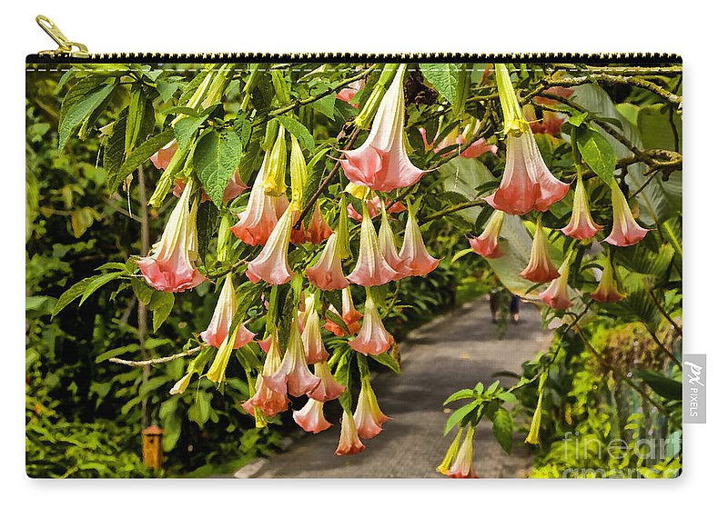 Wedding Bells Carry-all Pouch featuring the photograph Costa Rica Wedding Bells by Madeline Ellis