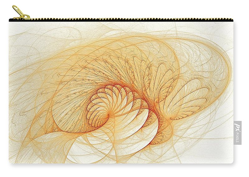 Carry-all Pouch featuring the digital art Cotillion Collective by Doug Morgan