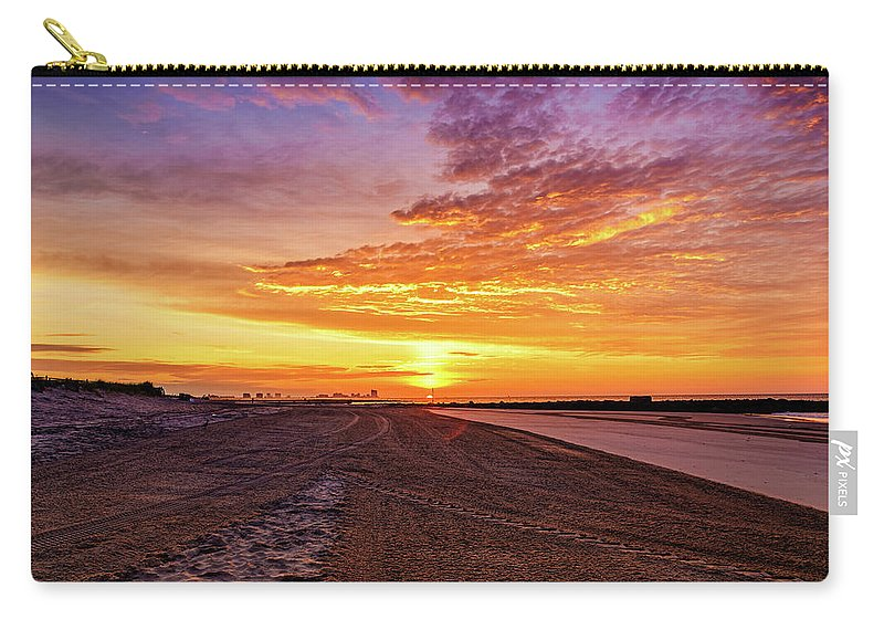 J. Zaring Carry-all Pouch featuring the photograph Cotton Candy Sea Salt by Joshua Zaring
