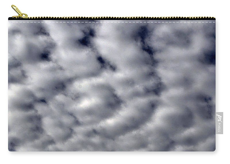 Clay Carry-all Pouch featuring the photograph Cotton Clouds by Clayton Bruster