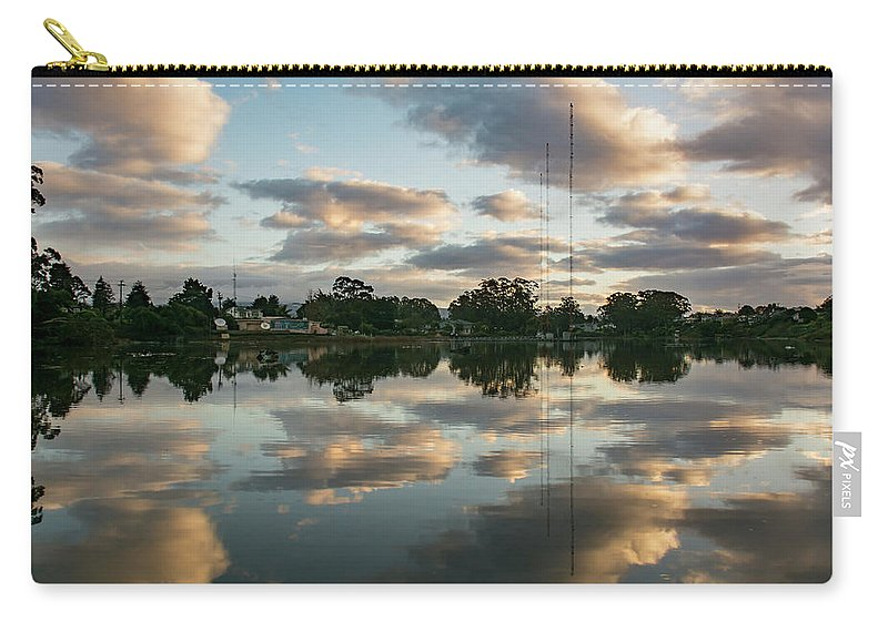 Clouds Carry-all Pouch featuring the photograph Couds At Sunrise by Bruce Frye