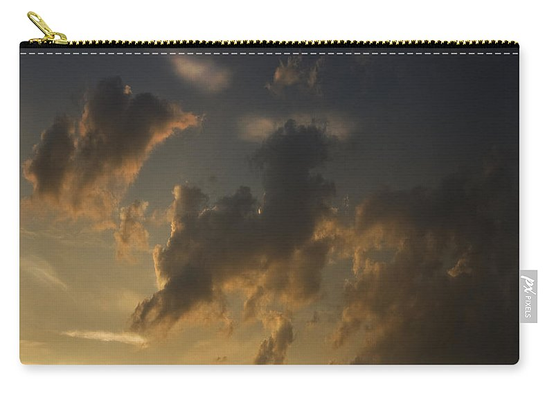 Sheep Carry-all Pouch featuring the photograph Counting The Sheep Before Sleeping by Angel Ciesniarska