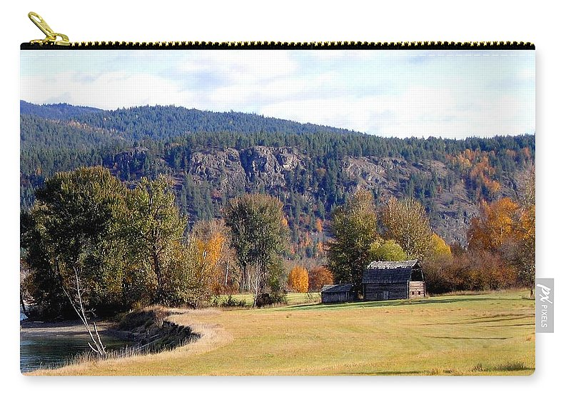Barn Carry-all Pouch featuring the photograph Country Charm by Will Borden