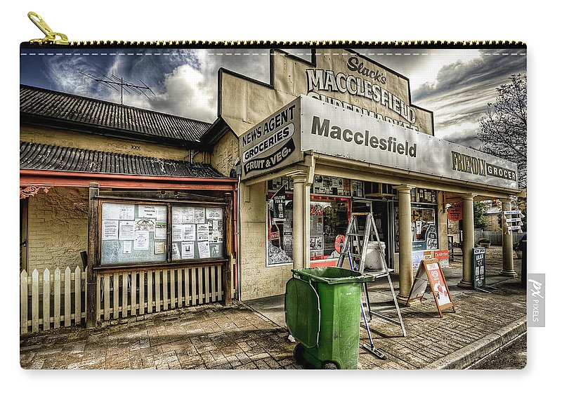Grocer Carry-all Pouch featuring the photograph Country Grocer by Wayne Sherriff