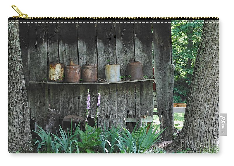 Country Carry-all Pouch featuring the photograph Country Jugs by Jost Houk