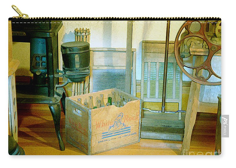 Kitchen Carry-all Pouch featuring the painting Country Kitchen Sunshine II by RC DeWinter