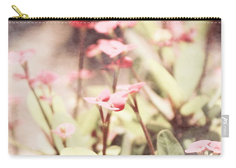 Prism Pink Carry-all Pouch featuring the photograph Country Memories in Prism Pink by Colleen Cornelius