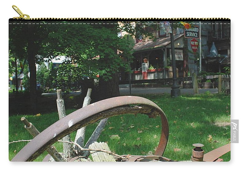 Country Carry-all Pouch featuring the photograph Country Wagon by Jost Houk