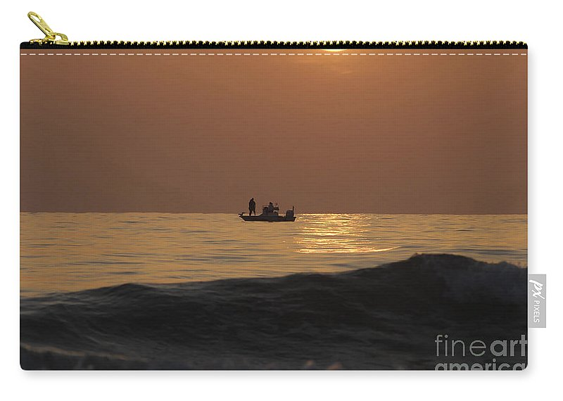 Sunset Carry-all Pouch featuring the photograph Couples At Sunset by David Lee Thompson