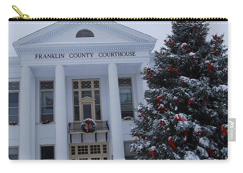 Christmas Carry-all Pouch featuring the photograph Court Dismissed by Eric Liller