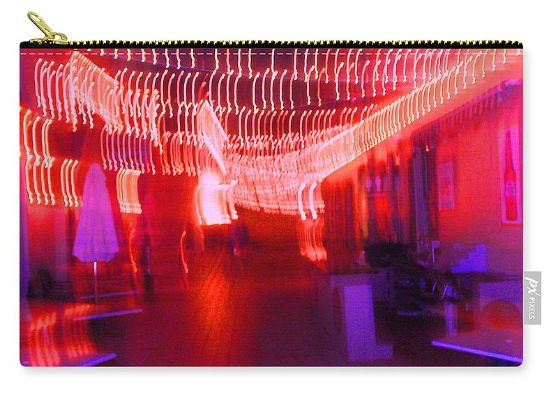 Photograph Carry-all Pouch featuring the photograph Courtside Lounge 2 by Thomas Valentine