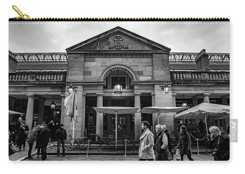 Covent Garden Carry-all Pouch featuring the photograph Covent Garden by Ashlyn Gehrett