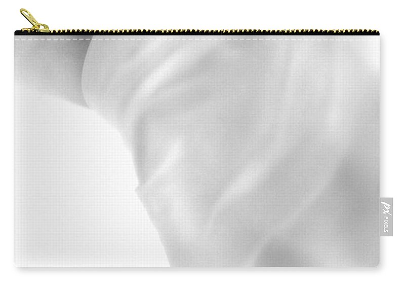 Body Carry-all Pouch featuring the photograph Covering The Body by Evgeniy Lankin