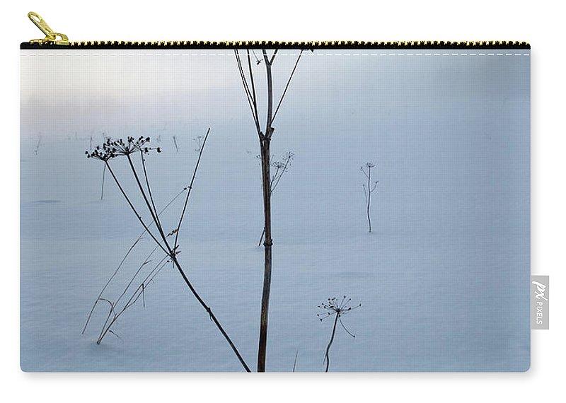 Lehtokukka Carry-all Pouch featuring the photograph Cow Parsley by Jouko Lehto