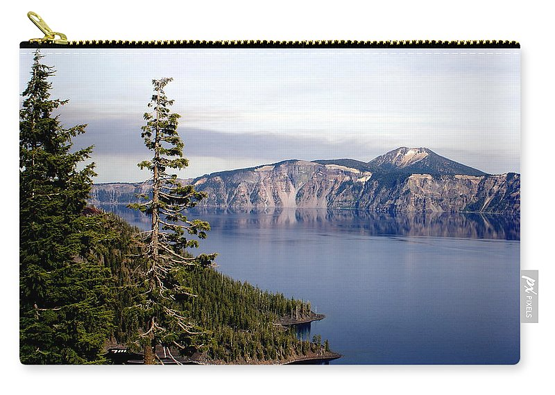 Landscape Carry-all Pouch featuring the photograph Crater Lake 3 by Marty Koch