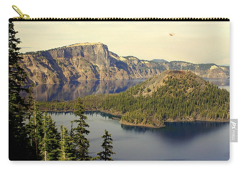 Crater Lake Carry-all Pouch featuring the photograph Crater Lake 6 by Marty Koch