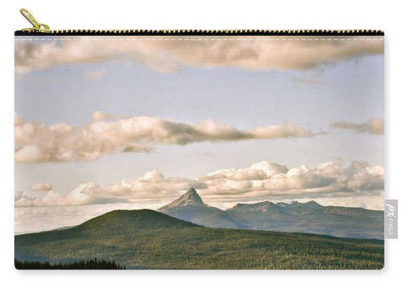Crater Lake Carry-all Pouch featuring the photograph Crater Lake IIi by Albert Seger
