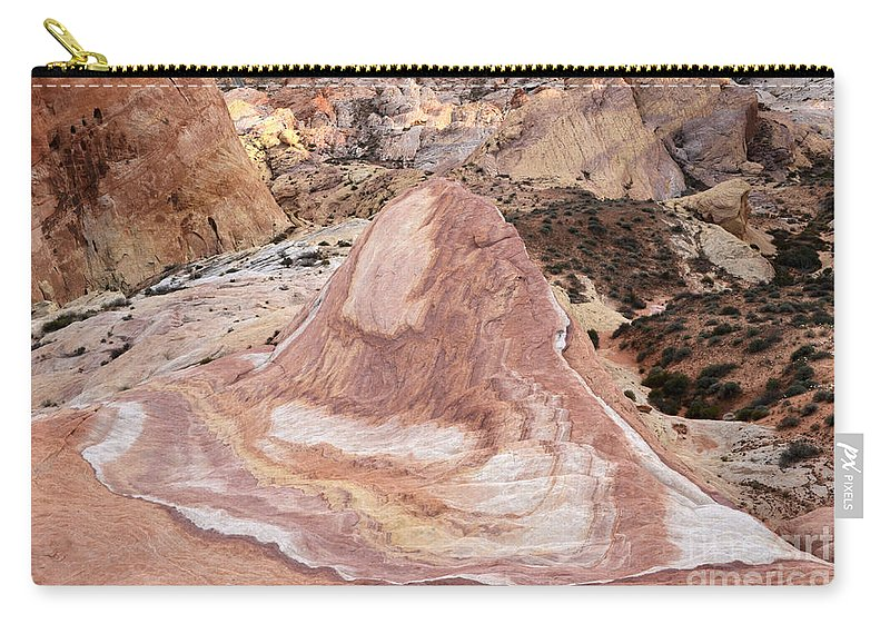 Nevada Carry-all Pouch featuring the photograph Crazy Hill by Bob Christopher