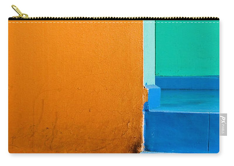 Oaxaca Carry-all Pouch featuring the photograph Creamsicle by Skip Hunt