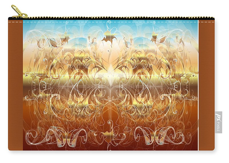 Fantasy Carry-all Pouch featuring the digital art Creation II by George Pasini